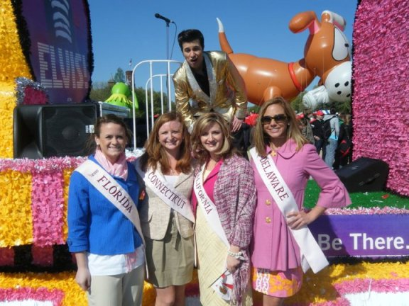 The 2010 Princess with the King